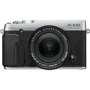 Fujifilm X-E2S Silver Digital Camera with 18-55mm Lens