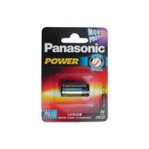 Panasonic CR123A 3V Lithium Battery CR 123 A