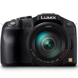 Panasonic Lumix DMC-G6 Black Digital Camera with 14-42mm Lens