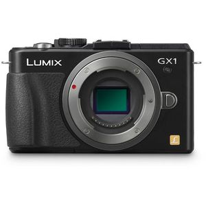 Panasonic Lumix GX1 Black Micro System Camera DMC-GX1