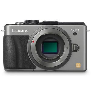 Panasonic Lumix GX1 Silver Digital Micro System Camera DMC-GX1