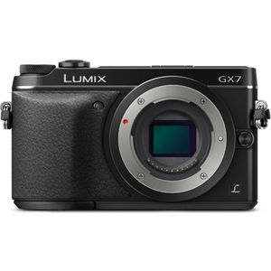Panasonic Lumix DMC-GX7 Black Digital Camera Body