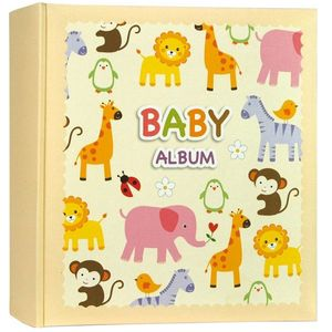 Peter Baby 7x5 Photo Album 200 Photos Overall Size 9.5x10.5""