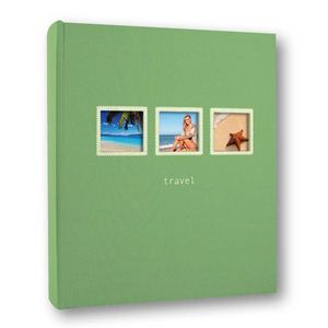 Positano 6x4 Green Slip In Photo Album 200 Photos