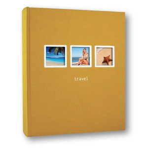 Positano 6x4 Orange Slip In  Photo Album 200 Photos