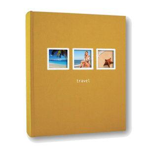 Positano 7.5x5 Slip In Orange Photo Album 200 Photos