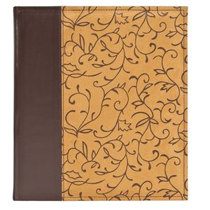 Elegance Tan Self Adhesive Photo Album - 30 Sides