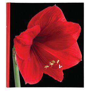 Botanics Red Traditional Photo Album - 100 Sides