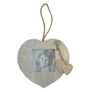 Walther Le Coeur Wood 3.5x3.5 Photo Frame