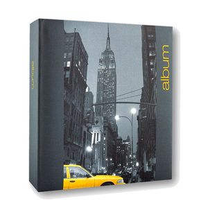 Iconic City New York 6x4 Slip In Grey Photo Album 300 Photos