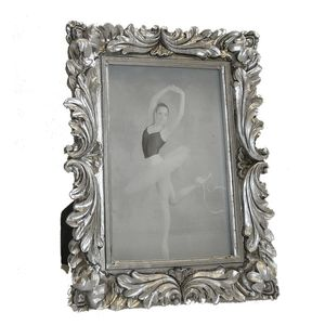 Walther Saint Germain Antique Silver 6x4 Photo Frame