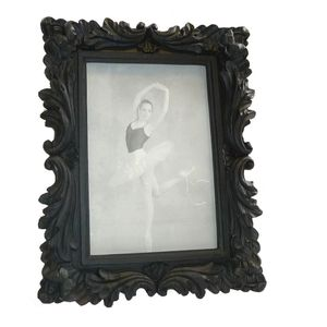 Walther Saint Germain Black Wood 7x5 Photo Frame