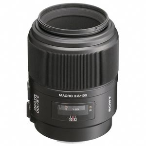 Sony 100mm F2.8 Macro A Mount Lens
