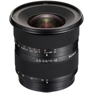 Sony 11-18mm F4.5-5.6 A Mount Lens