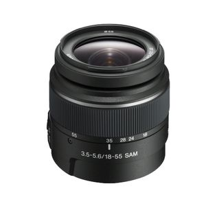 Sony 18-55mm F3.5-5.6 A Mount Lens