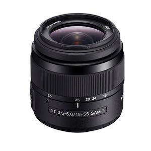 Sony 18-55mm F3.5-5.6 SAM DT II A Mount Lens