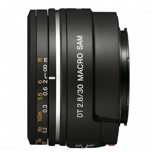 Sony 30mm f2.8 SAM Macro A Mount Lens