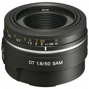 Sony 50mm F1.8 A Mount Lens