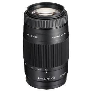 Sony 75-300mm F4.5-5.6 A Mount Lens