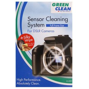 Green Clean Sensor Cleaning Kit Full Frame Size