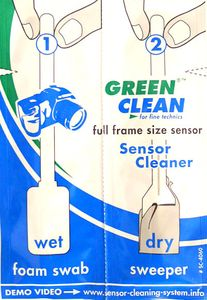Green Clean Full 35mm-Size Sensor Wet & Dry Swabs 25 pcs