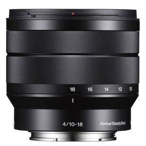 Sony 10-18mm F4 E Mount Lens