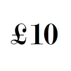 £10 Gift Voucher - In Store Use Only