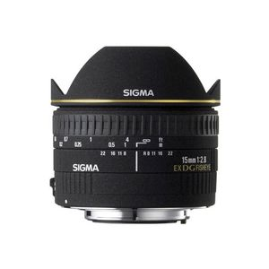 Sigma 15mm f2.8 EX DG Diagonal Fisheye Lens - Sigma Fit