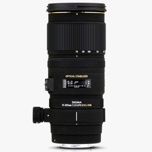 Sigma 70-200mm f2.8 EX DG OS HSM Lens - Canon Fit