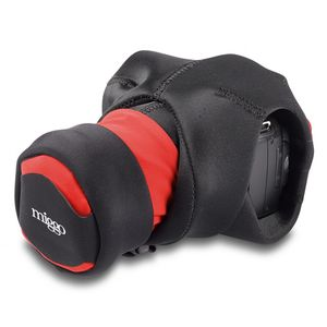 Miggo Grip & Wrap Black and Red Carrying Strap for DSLR Cameras