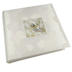 Floral Romance 6x4 Slip In Wedding Photo Album - 200 Photos