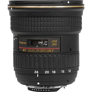 Tokina 12-24mm AF f4 AT-X 124 PRO DX II - Canon Fit