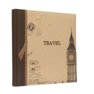 Travel Big Ben Slip In 7.5x5 Photo Album - 200 Photos