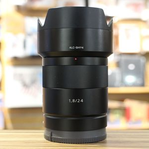 Used Sony 24mm F1.8 Zeiss Sonnar ZA NEX Lens
