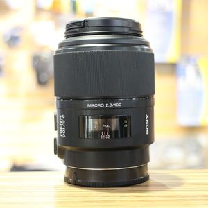Used Sony AF 100mm F2.8 Macro Lens for Sony Alpha