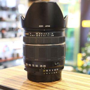 Used Tamron 28-200mm F3.8-5.6 Aspherical XR Lens - Nikon Fit