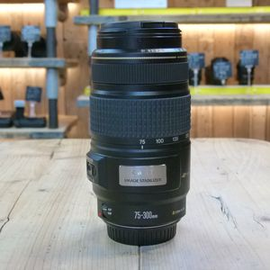 Used Canon EF 75-300mm F4-5.6 IS USM Lens