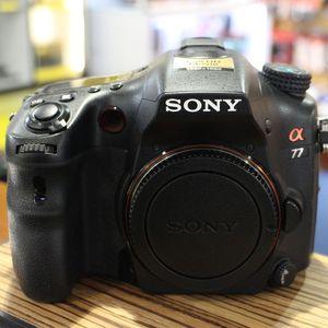 Used Sony Alpha A77 Black Digital Camera Body
