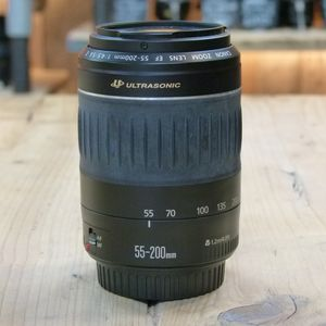 Used Canon EF 55-200mm F4.5-5.6 II USM Lens