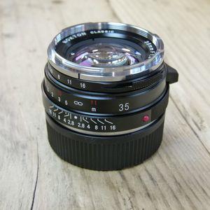 Used Voigtlander 35mm f1.4 Nokton Classic Leica M Fit Lens