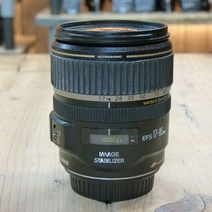 Used Canon EF-S 17-85mm F4-5.6 IS USM Lens