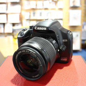 Used Canon EOS 450D Digital SLR with 18-55mm F3.5-5.6 IS Lens