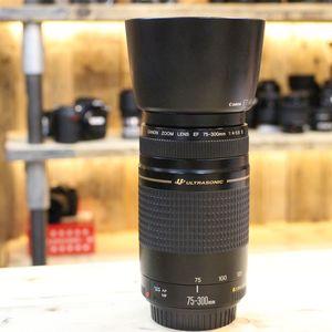 Used Canon 75-300mm f4-5.6 II EF Lens