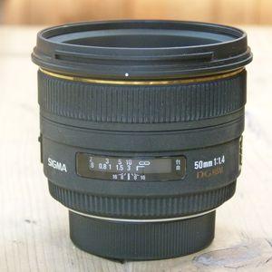 Used Sigma AF 50mm f1.4 EX DG HSM Lens - Nikon Fit