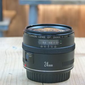 Used Canon EF 24mm F2.8 Lens