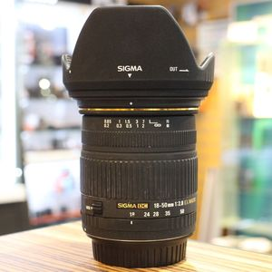 Used Sigma AF 18-50mm F2.8 EX Macro DC Lens - Canon Fit