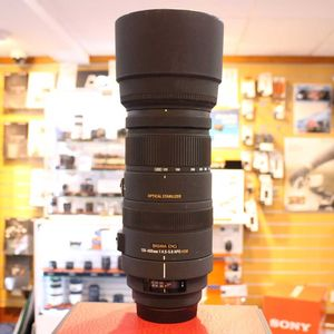 Used Sigma AF 120-400mm F4.5-5.6 APO HSM OS Canon Fit Lens