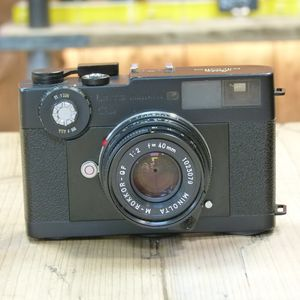 Used Leitz Minolta CL 35mm Camera with M 40mm f2 Rokkor Lens