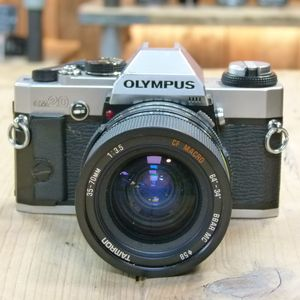 Used Olympus OM-20 35mm Film Camera  with Tamron 35-70mm F 4 Lens
