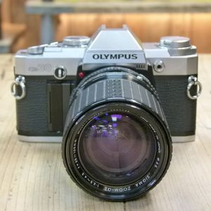 Used Olympus OM30  35mm Camera Body with Sigma 35-105mm Lens